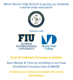 Dual Enrollment Courses Available! - News and Announcements - Miami